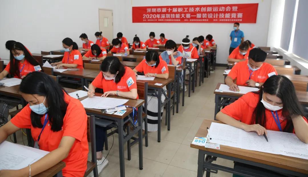深圳市第十届职工技术创新运动会——万博manbetx手机端登录设计技能竞赛进行初赛